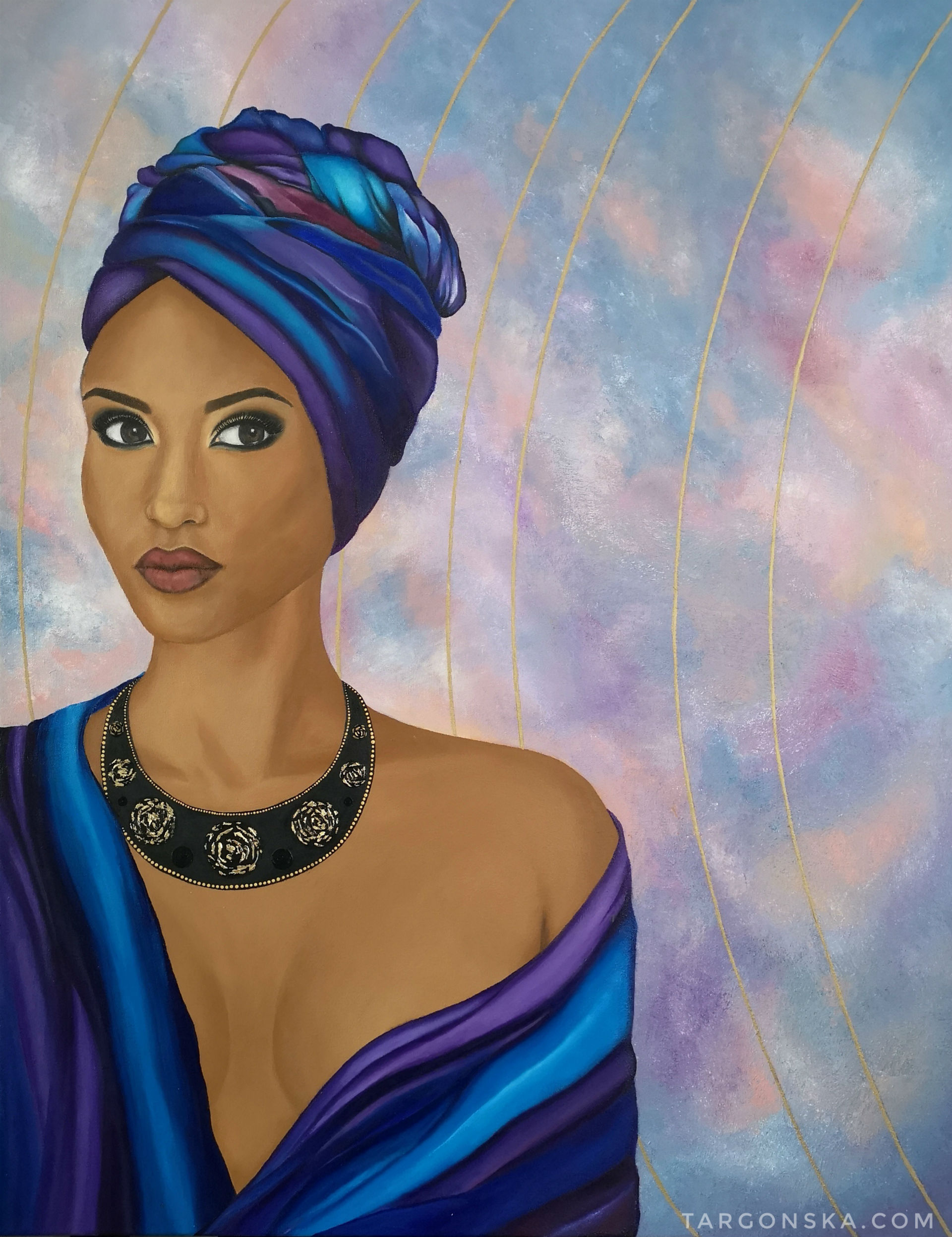 Targonska African lady