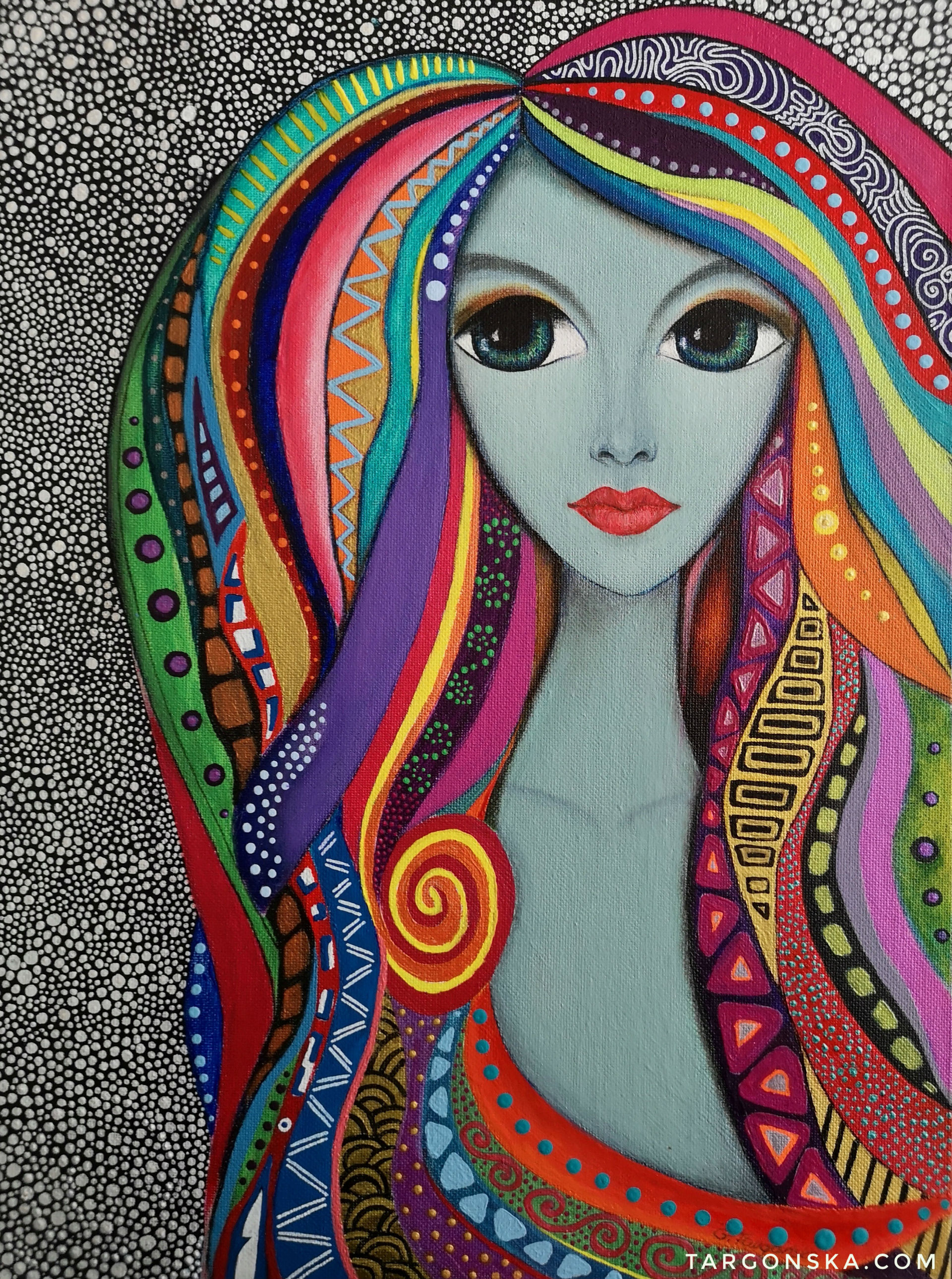 Colorful Lady Malgorzata Targonska
