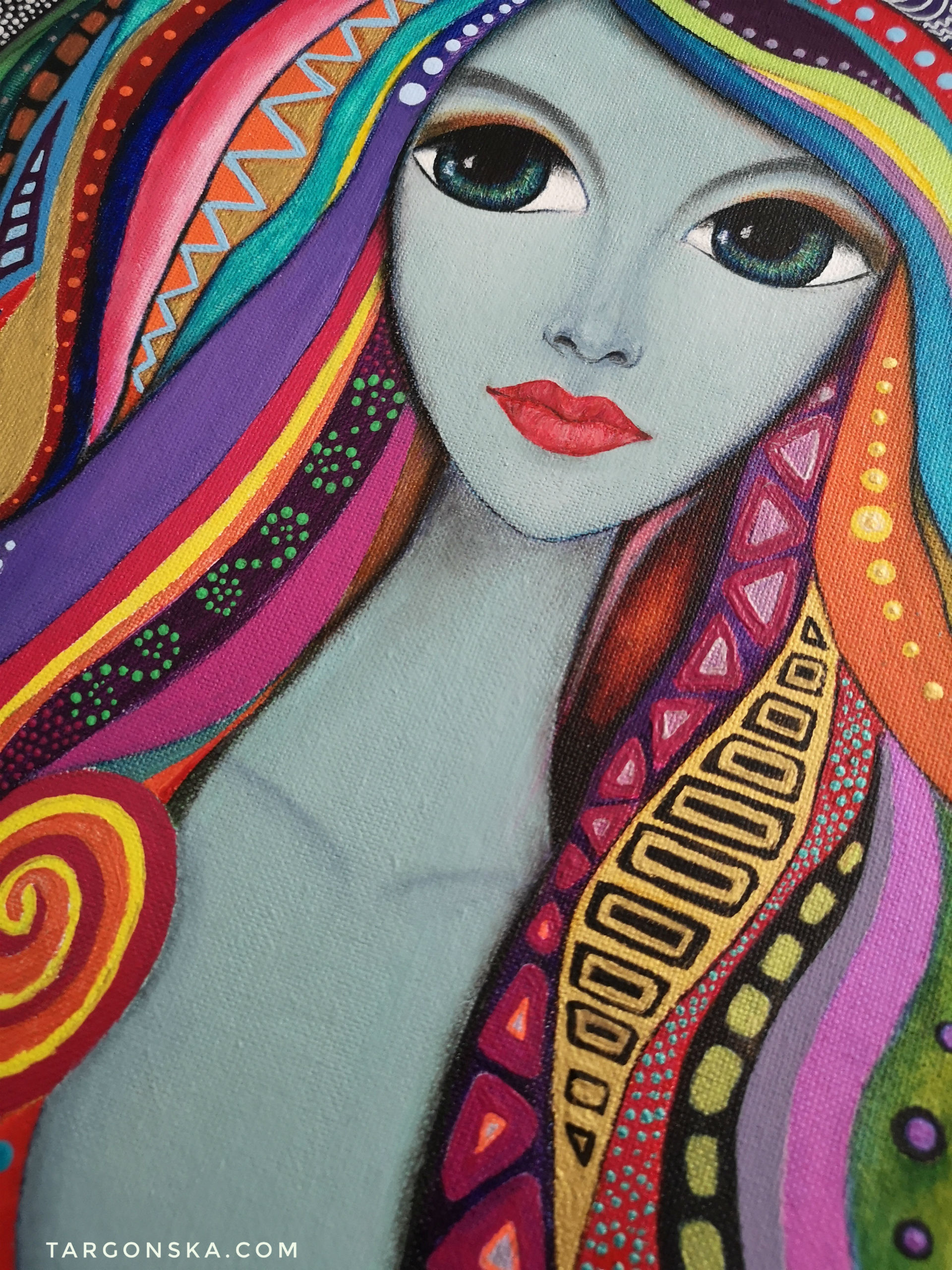 Malgorzata Targonska - Colorful Lady