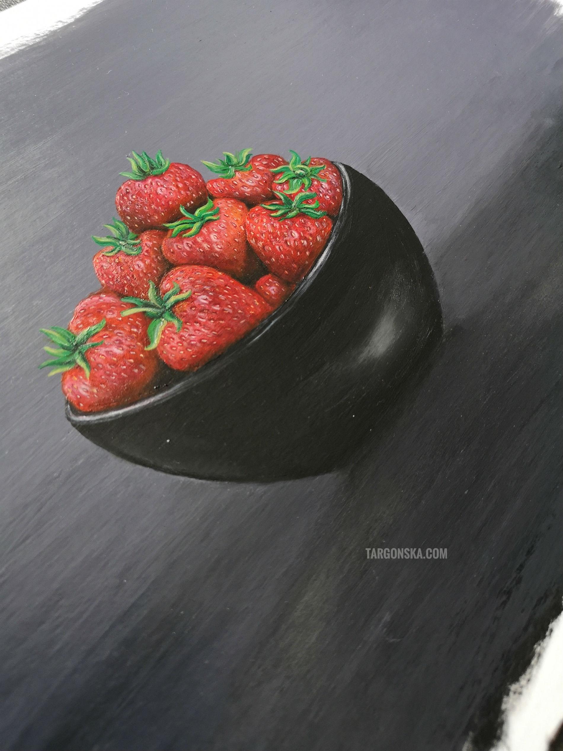malgorzata targonska Bowl of strawberries